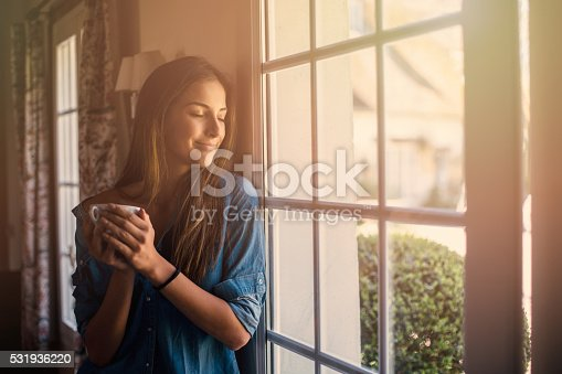909062786 istock photo Morning at home 531936220