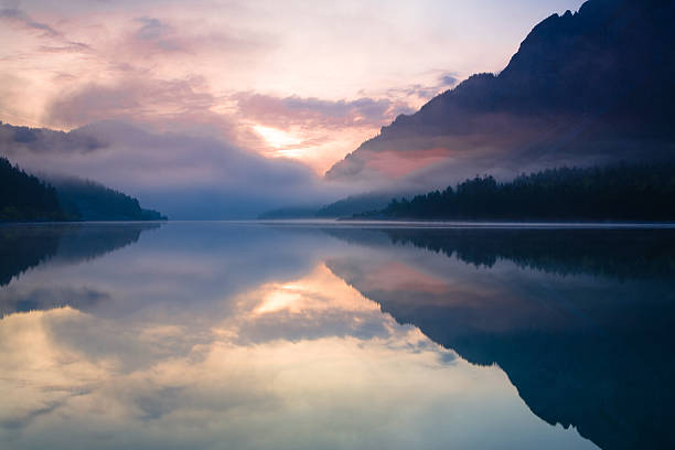 Morgen am lake plansee – Foto