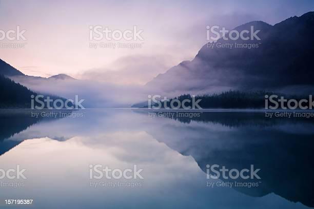 Photo of morning at lake plansee
