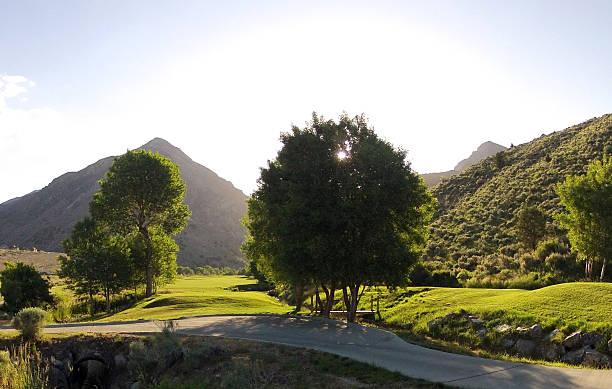 Morgen auf dem Golfplatz – Foto
