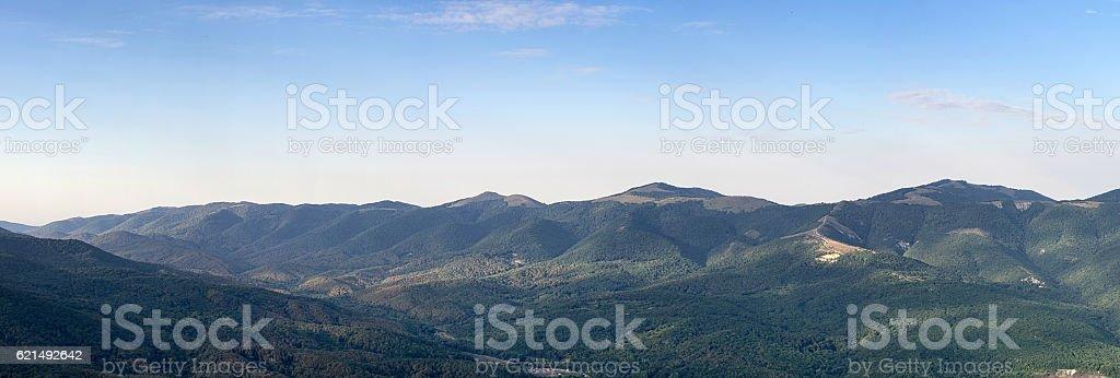 morning at the mountain ridge Lizenzfreies stock-foto