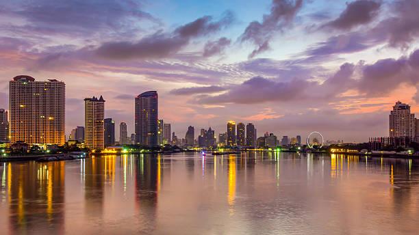 Morning Bangkok stock photo