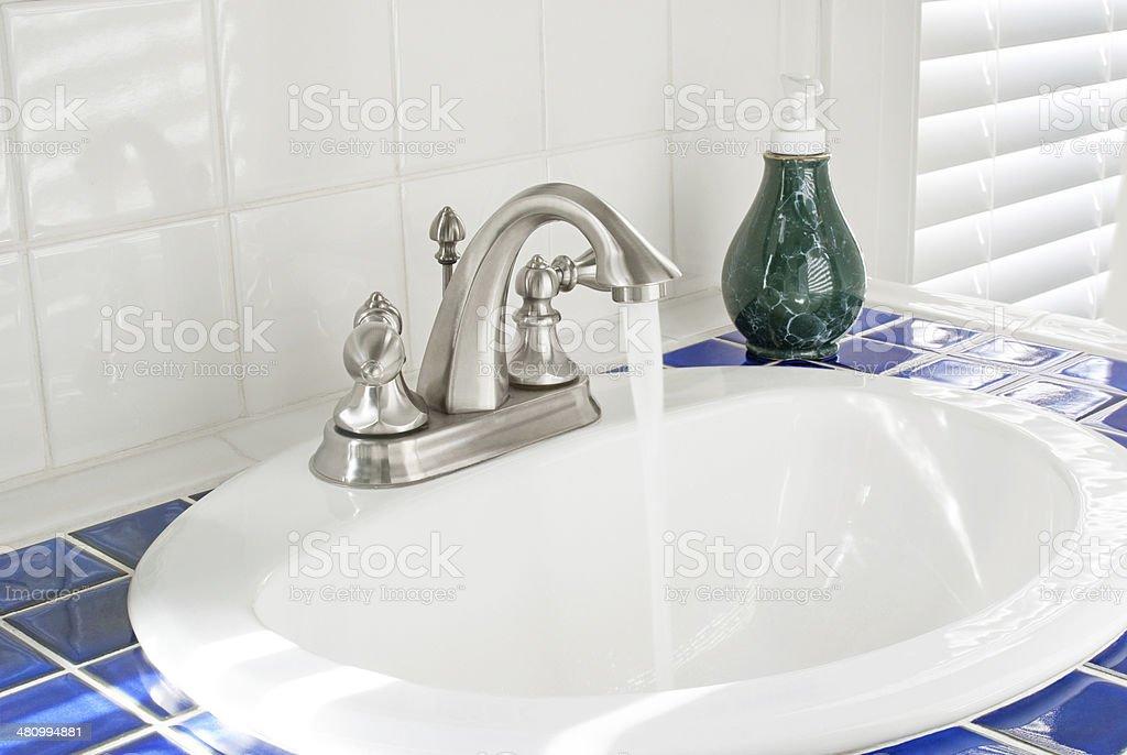 Morning Bathroom Sun stock photo