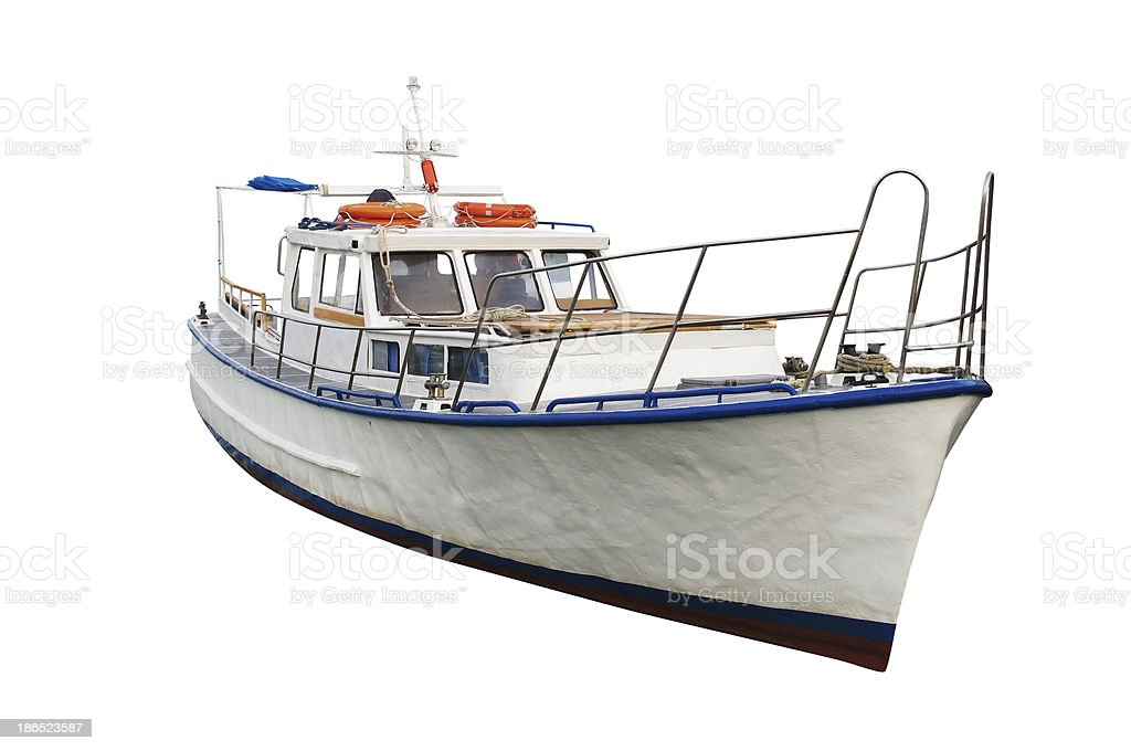 morning boats royalty-free stock photo