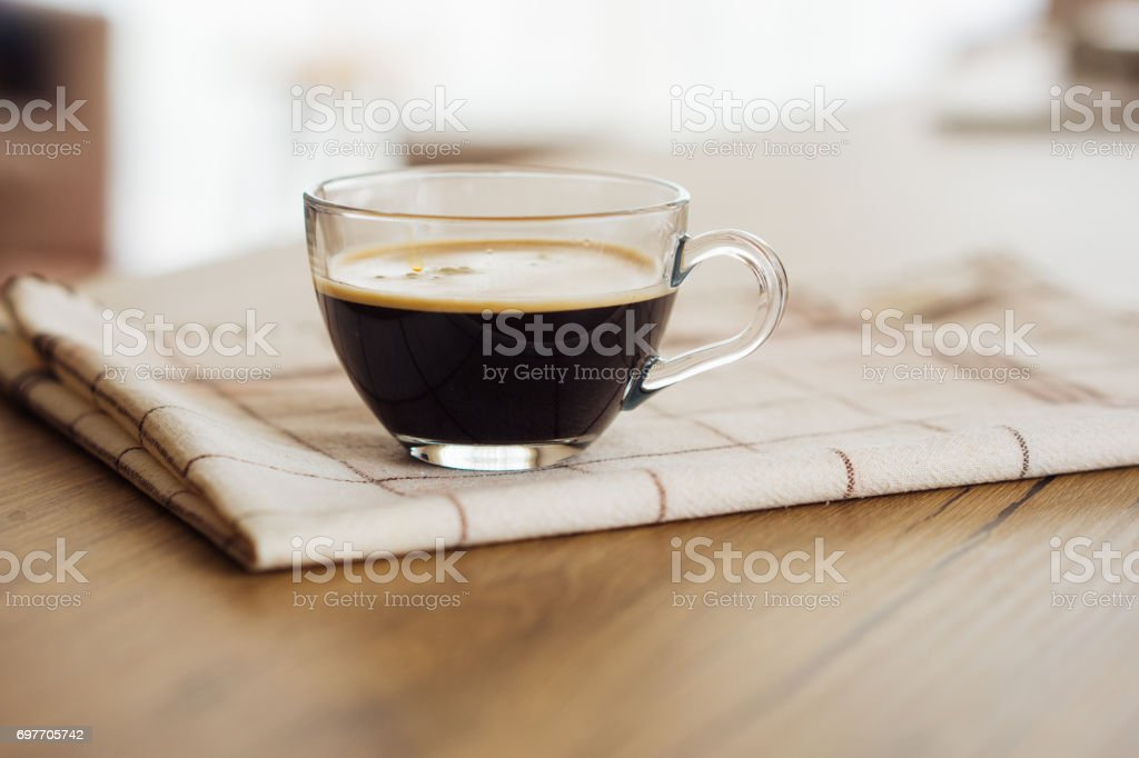 Morning boost. Double espresso, anybody? stock photo