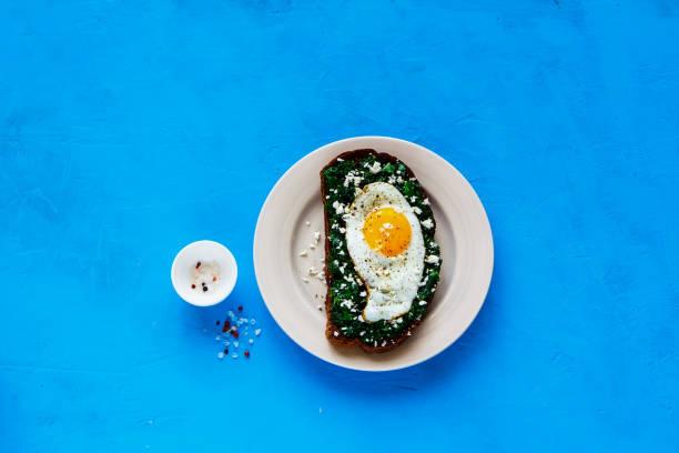 Morning breakfast sandwich stock photo