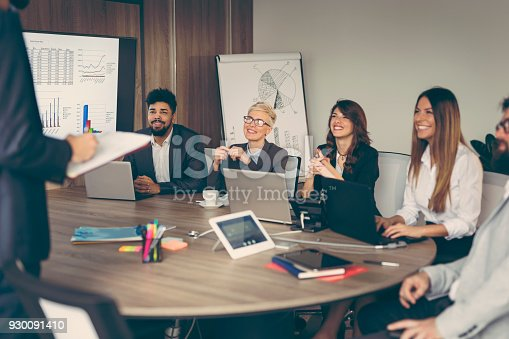 922512798 istock photo Morning briefing 930091410