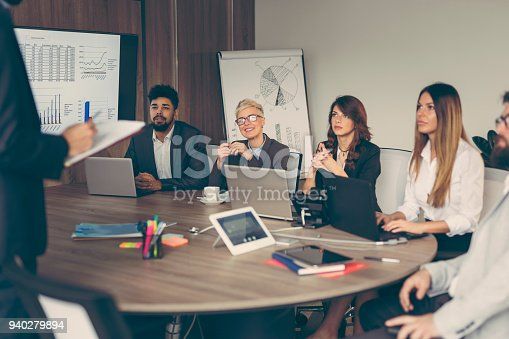 922512798 istock photo Morning briefing 940279894