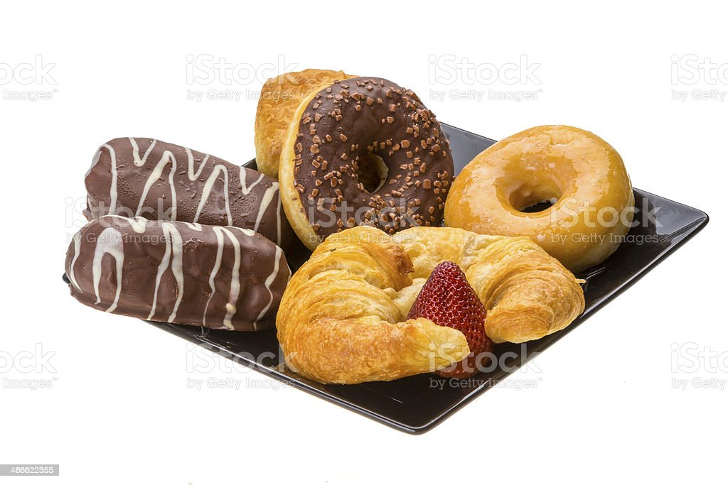 Morning buns and cakes royalty-free stock photo
