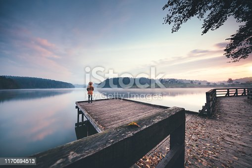 619670604 istock photo Morning By The Lake 1170694513