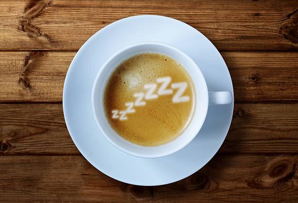 Morning caffeine stock photo