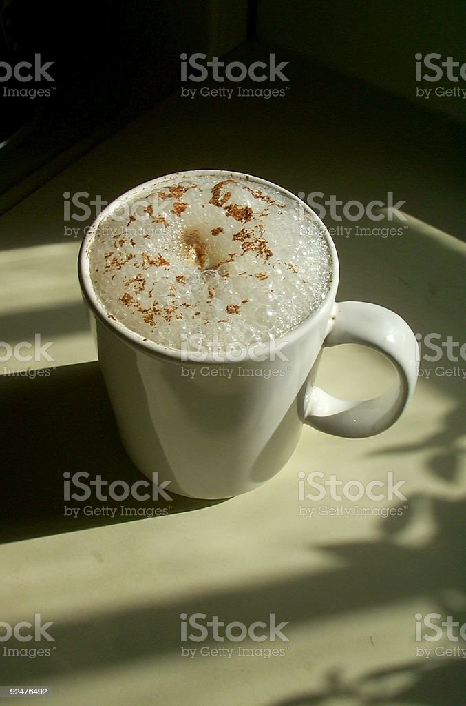 Morning Cappucino royalty-free stock photo