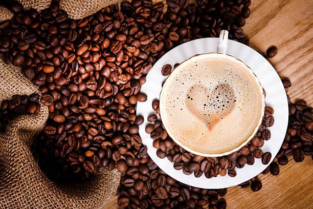 morning coffe stock photo
