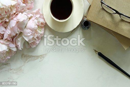 istock Morning coffee break 820781780