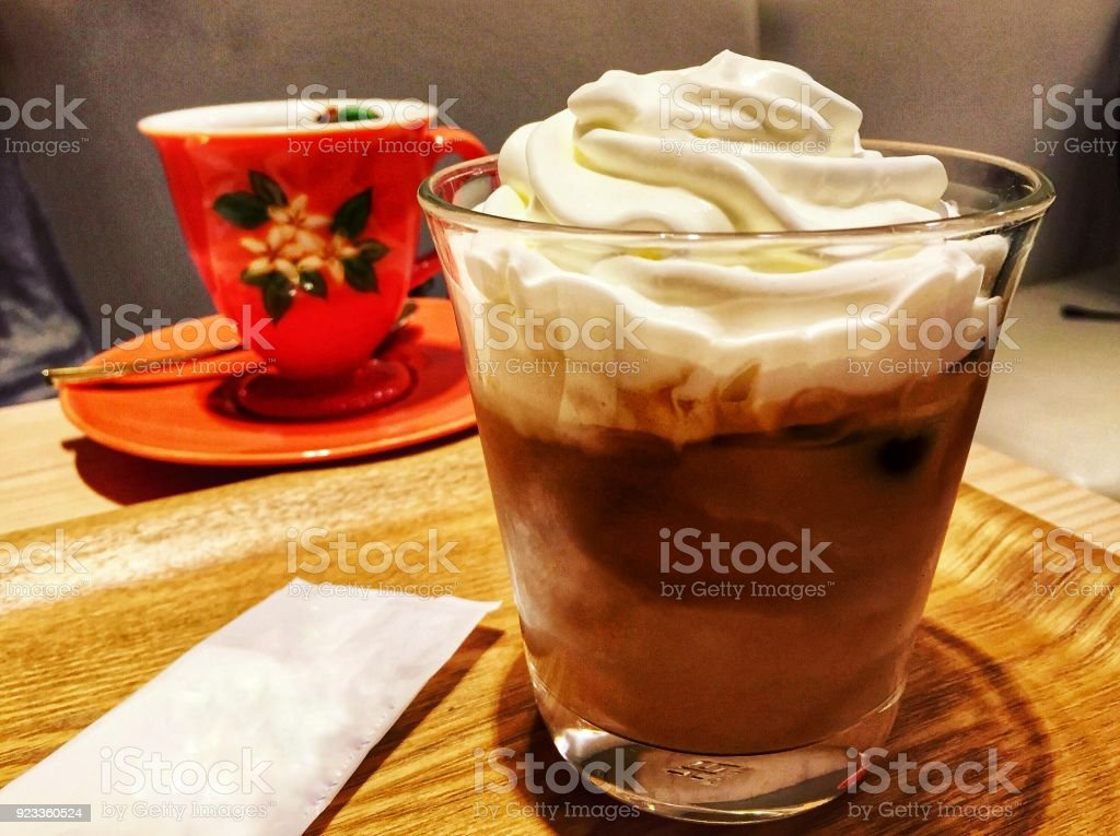 Morning Coffee in Japan stock photo