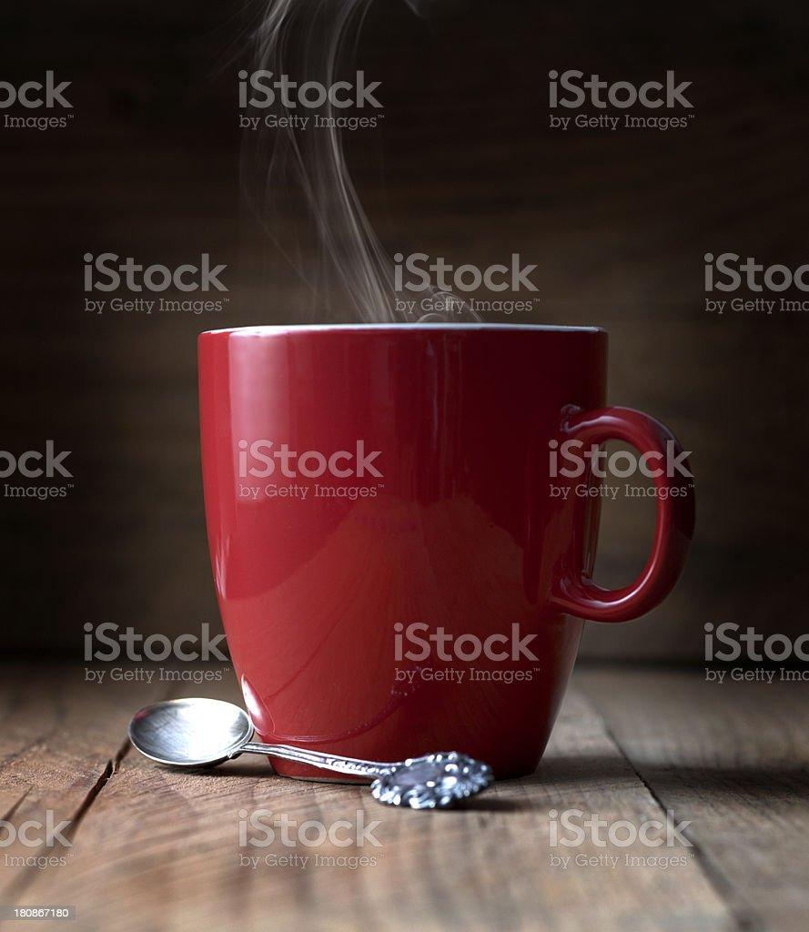 Morning coffee stock photo