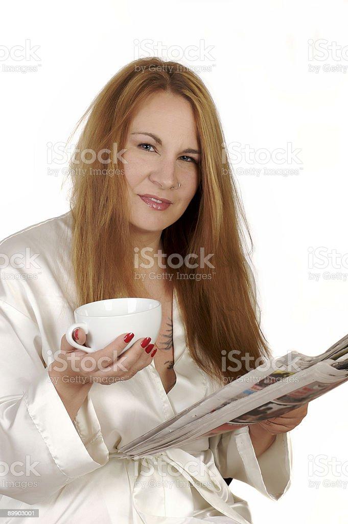 Caffè mattutino foto stock royalty-free