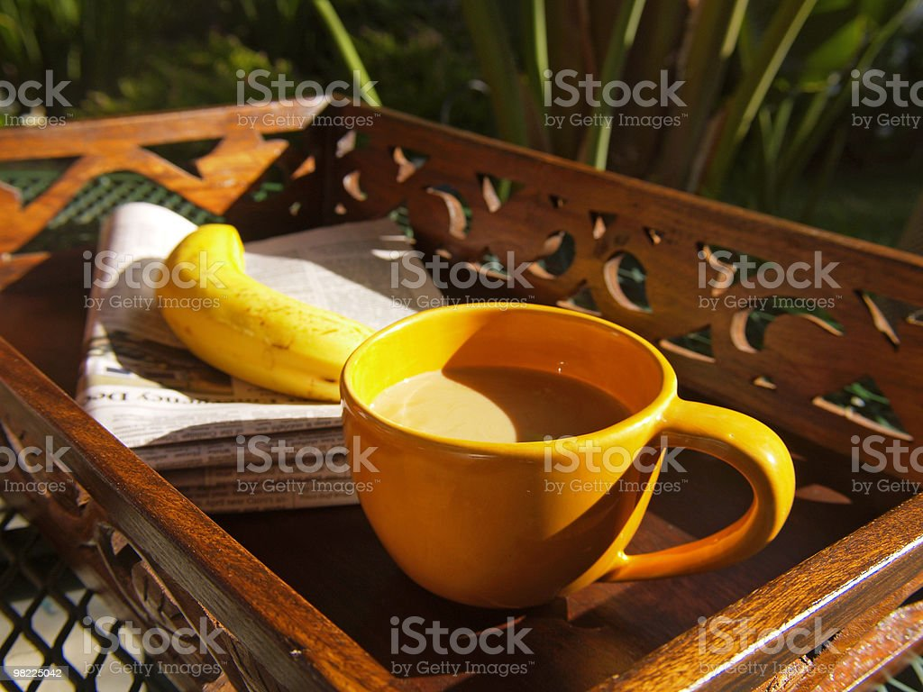 모닝 커피 royalty-free 스톡 사진