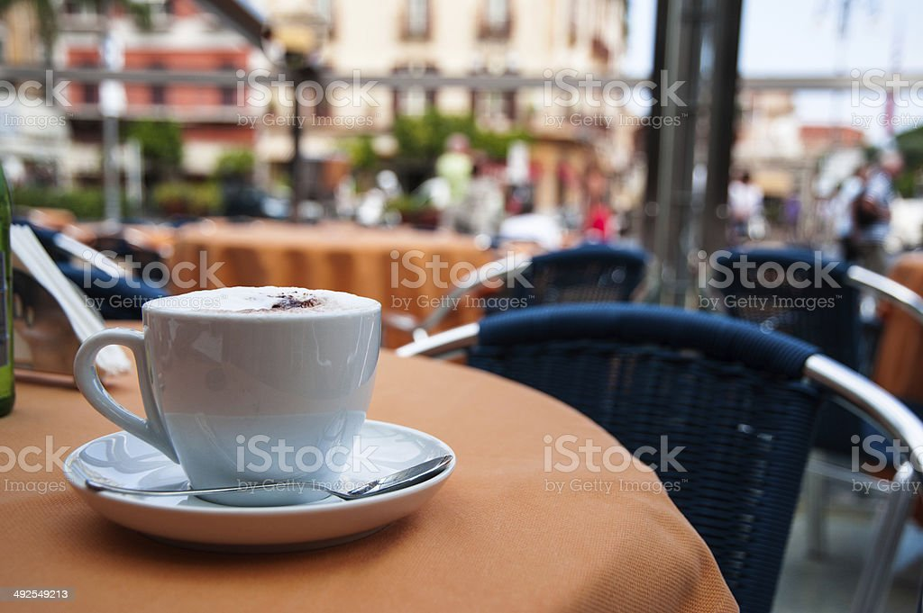 Morning cup of coffee 2 stock photo