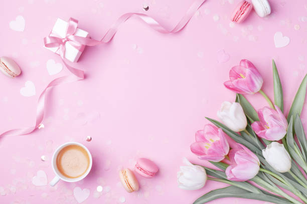 Morning cup of coffee cake macaron gift or present box and spring picture id1132050636?b=1&k=6&m=1132050636&s=612x612&w=0&h=diap21dnhdgv8yyev928evkhbu9bi6wilptuhv3pmcy=
