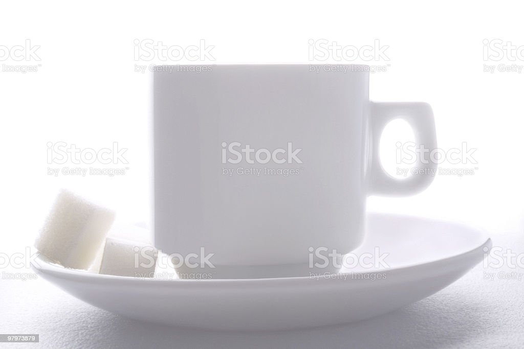 Morning cup of tea royalty-free stock photo