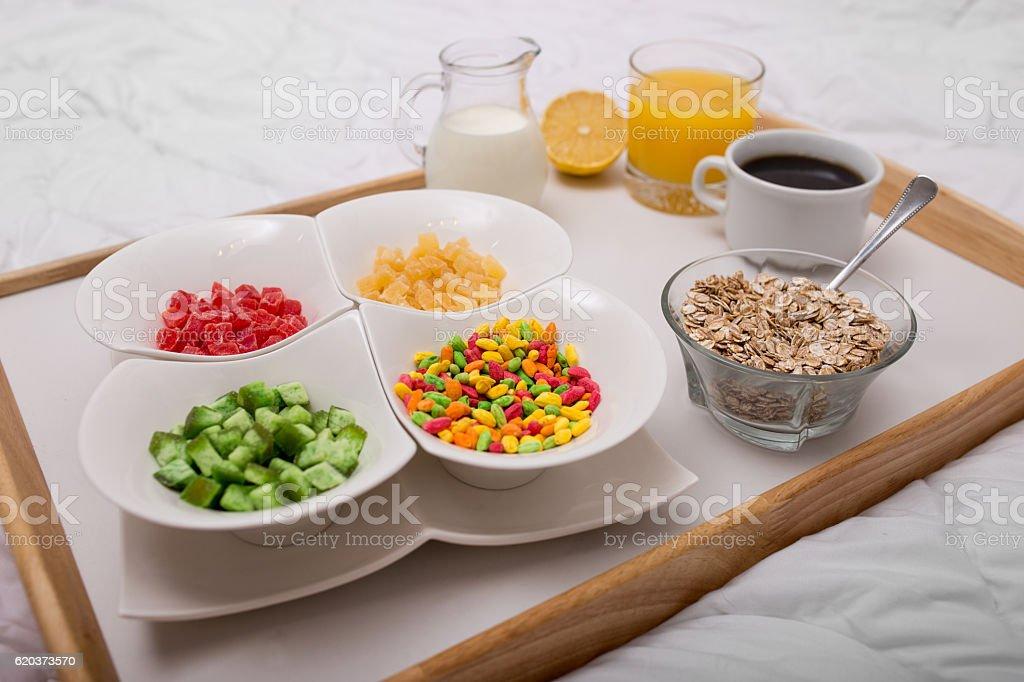 Manhã culinárias foto de stock royalty-free