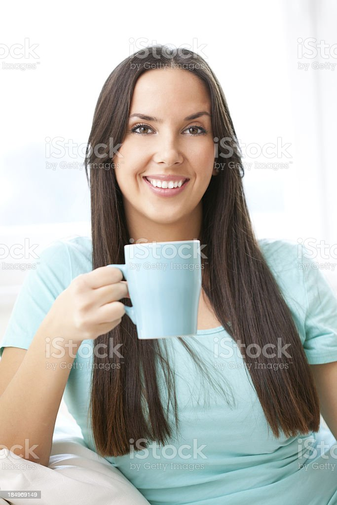 Morning drink royalty-free stock photo