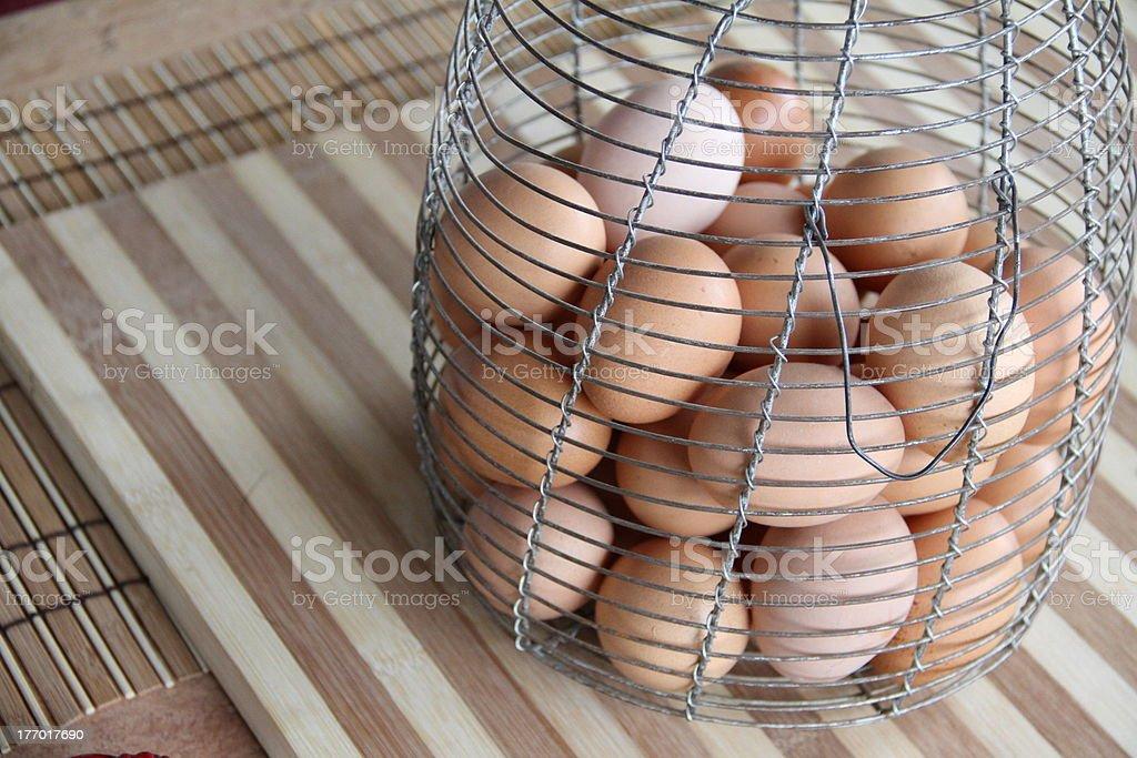 Morning Eggs stock photo