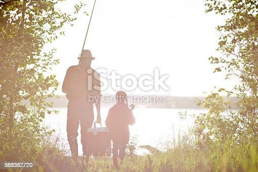 992209122 istock photo Morning fishing 588382720