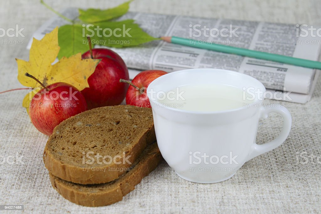 Morning food royalty-free stock photo