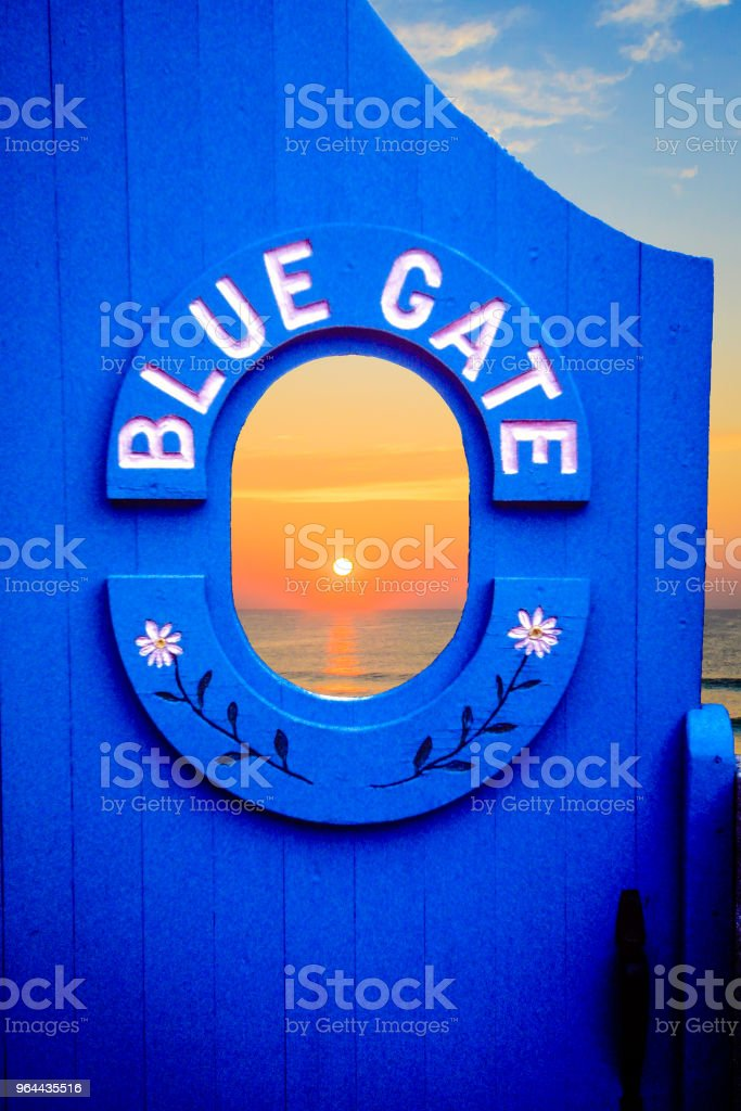 Morning Gate2 - Royalty-free Composite Image Stock Photo