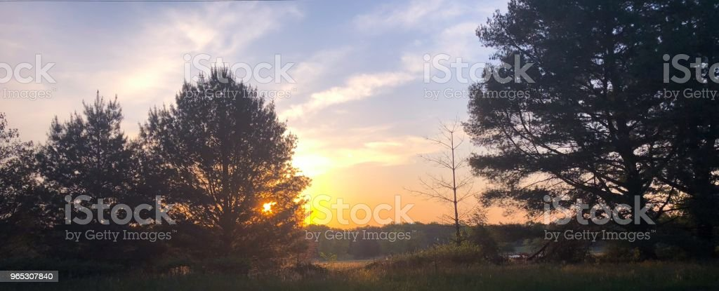 Morning has broken. royalty-free stock photo