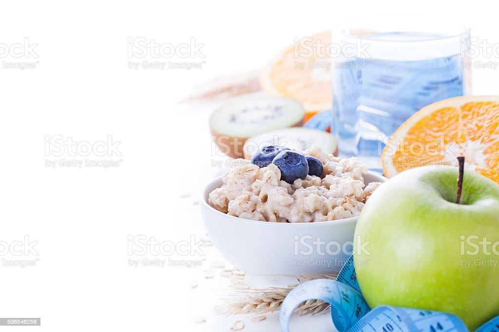 Matin alimentation saine photo libre de droits