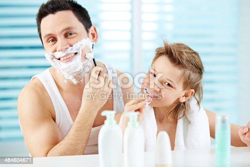 185211538istockphoto Morning hygiene 484604671