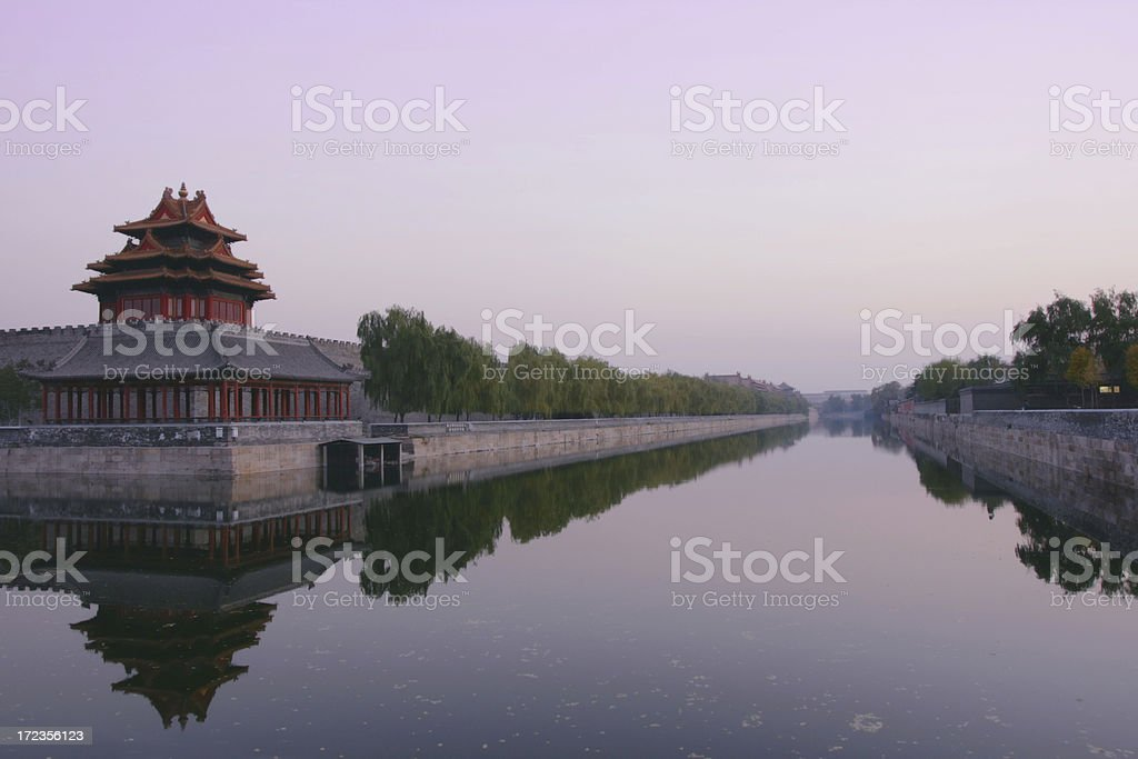 Morning in Beijing royalty-free stock photo