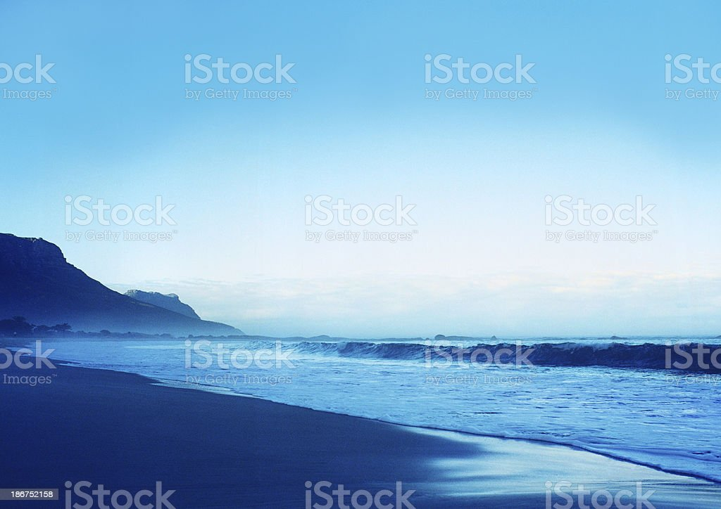 Morning in Camp's Bay royalty-free stock photo