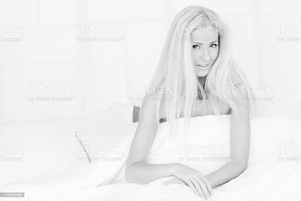 Morning in hotel royalty-free stock photo