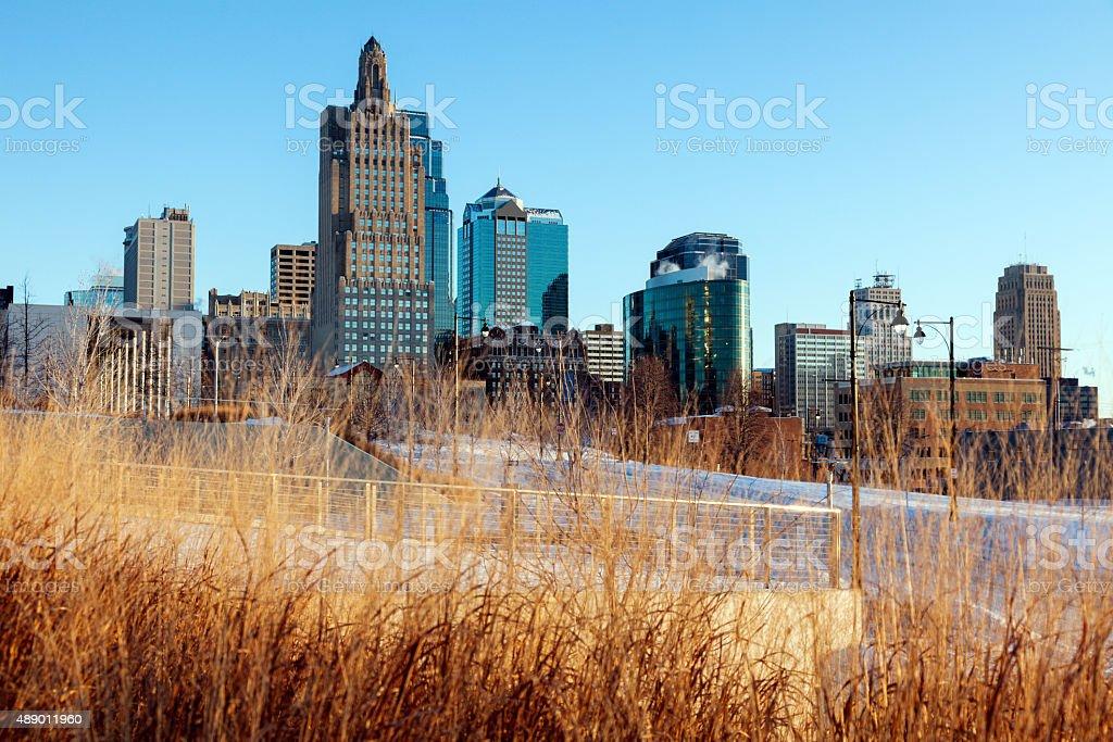 Morning in Kansas City stock photo