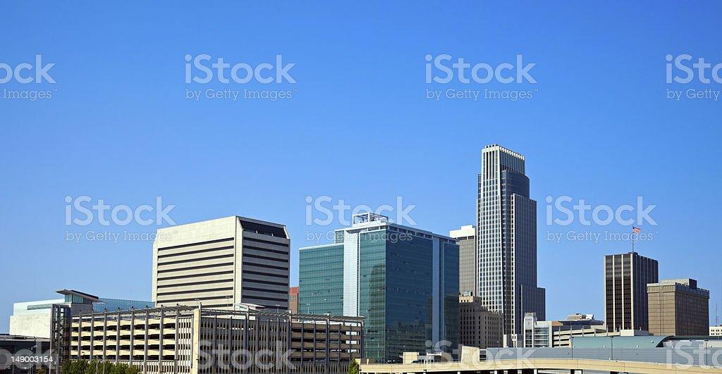 Morning in Omaha stock photo