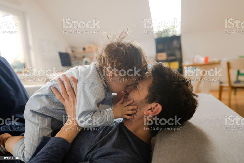 Morgen bei uns zu Hause - Lizenzfrei 12-23 Monate Stock-Foto