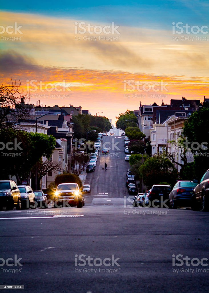 Morning In San Francisco stock photo