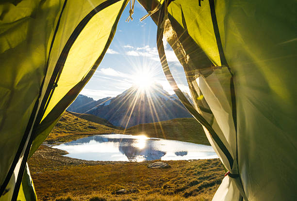 Morgen in den Schweizer Alpen – Foto