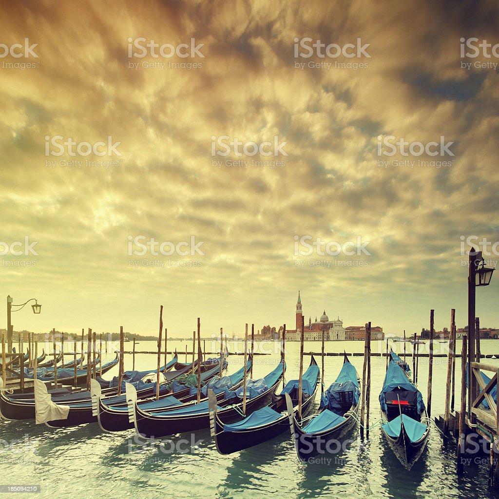 Morning in Venice royalty-free stock photo