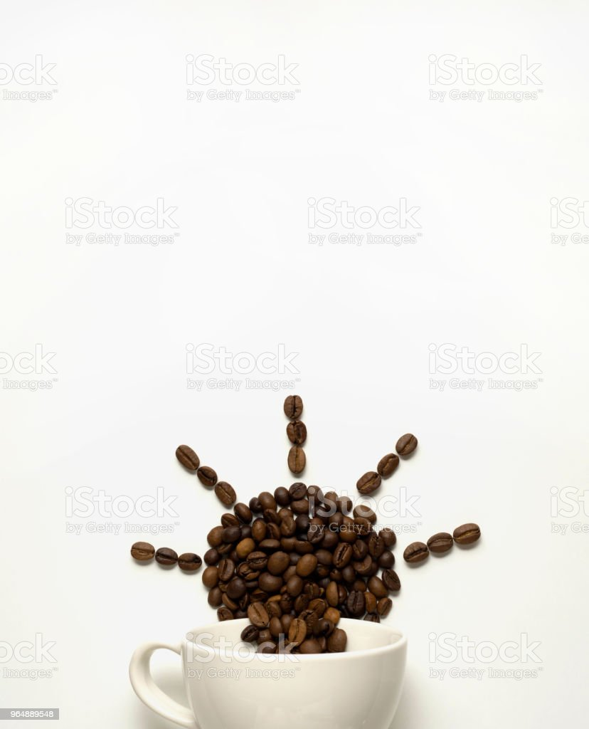 Morning in your cup. royalty-free stock photo