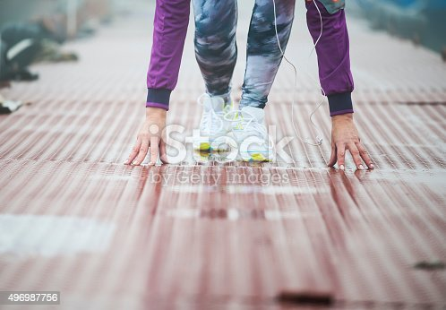 497687118istockphoto Morning jogging 496987756