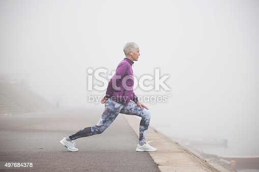 497687118istockphoto Morning jogging 497684378