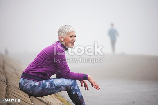 497687118istockphoto Morning jogging 497687118