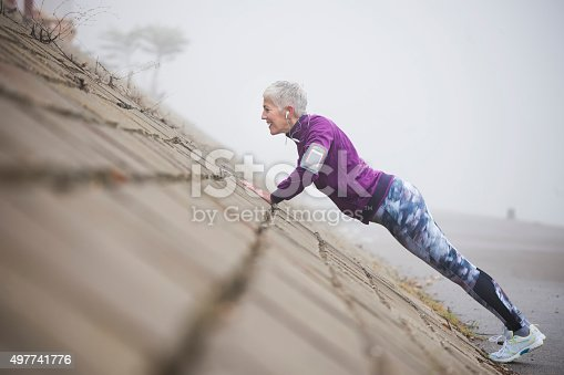 497687118istockphoto Morning jogging 497741776