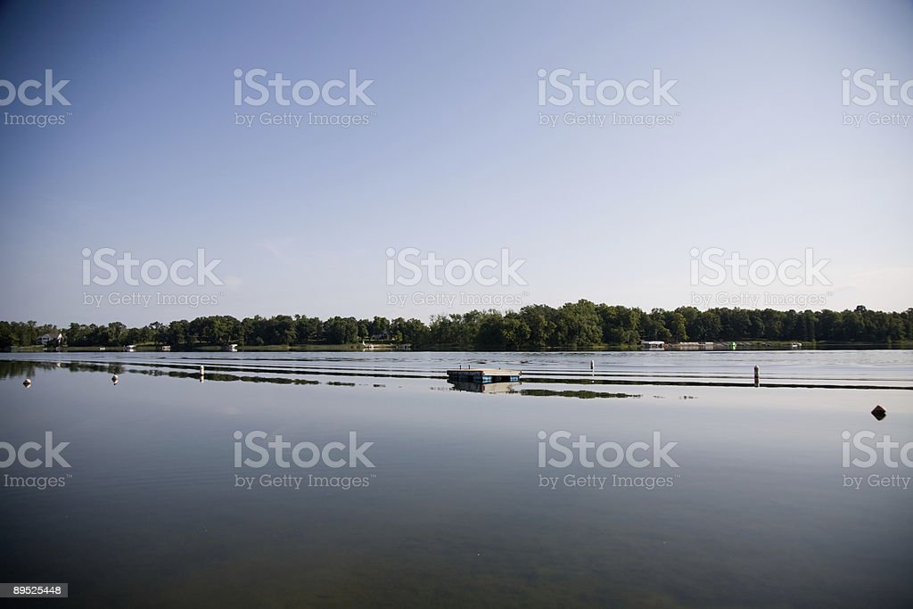 Morning Lake royalty-free stock photo