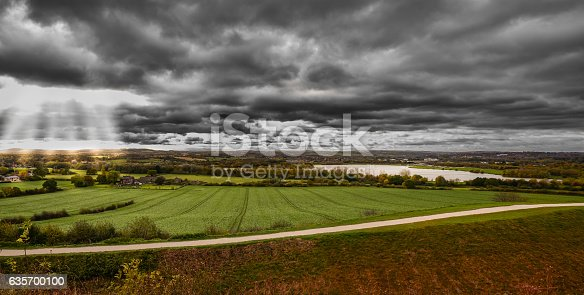 Morning Landscape Panoramic View Stock Photo & More Pictures of Autumn